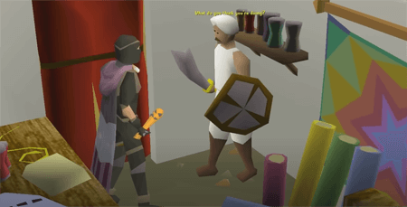 Non-bearded bandits at OldSchool RuneScape
